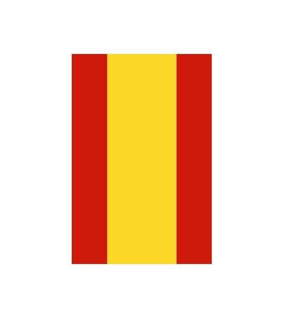 Bandera de España estandar
