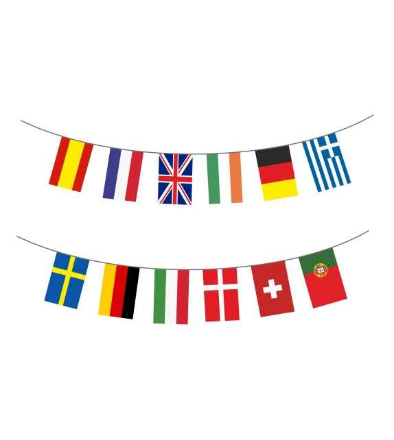 Pack banderas Internacionales.
